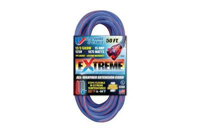 U S  Wire & Cable 50 FT  Extreme All-Weather Extension Cord
