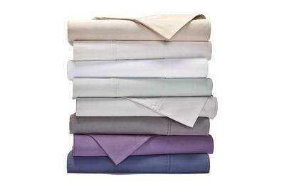 Bed Bath U0026 Beyond Heartland HomeGrown 400 Thread Count Solid Sateen Sheet  Set