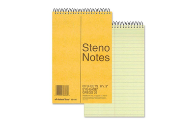 National Brand Steno Notes
