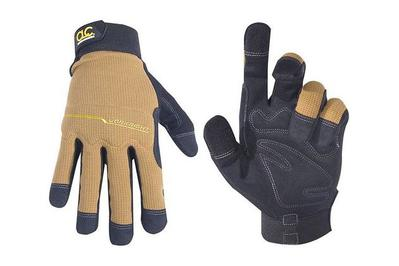 Custom Leathercraft 124L Flex Grip WorkRight Gloves