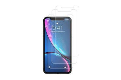 TechMatte amFilm Tempered Glass Screen Protector for iPhone XR