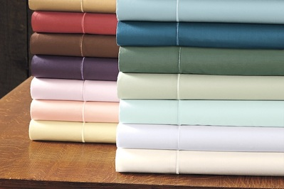 Cuddledown 400 Thread Count Solid Sateen Duvet Cover