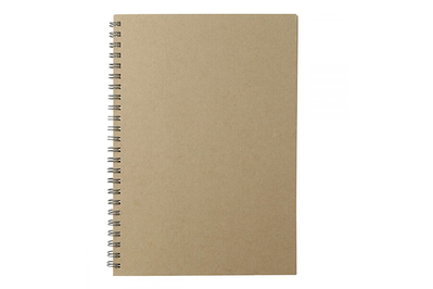 Muji Recycled Kraft Paper Monthly Schedule
