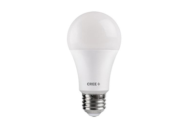 Cree 60 W Equivalent Soft White A19 Dimmable Exceptional Light Quality LED Light Bulb