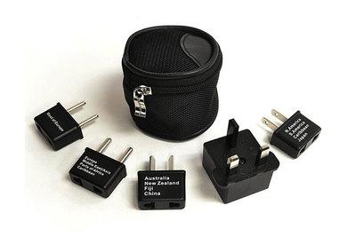 Ceptics International Worldwide Travel Plug Adapter 5 Piece Set