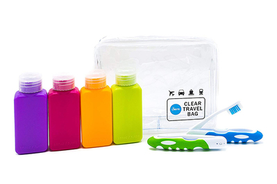 65a0d190ee17 Lingito Travel Bottle Set