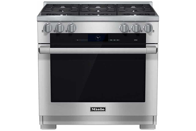 Miele HR1934DF M-Touch Series 36-Inch Dual Fuel Range