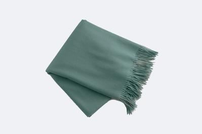 Garnet Hill Wool & Cashmere Throw