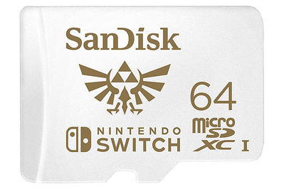 SanDisk MicroSDXC card for Nintendo Switch (64 GB)