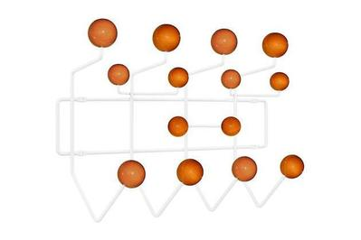 Modway Gumball Mid-Century Wall-Mounted Coat Rack