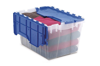 Akro-Mils KeepBox Attached Lid Container