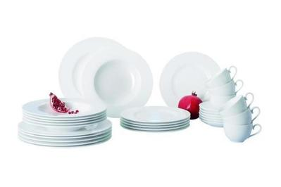 Villeroy & Boch Royal 30-Piece Bone Porcelain Set