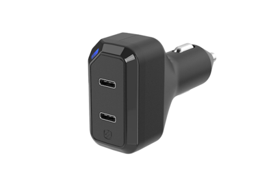Scosche PowerVolt Power Delivery Dual 18W USB-C Car Charger (CPDC8C8)
