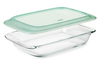 OXO Good Grips 3-Qt Glass Baking Dish with Lid