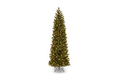 National Tree Company 7.5-foot Downswept Douglas Fir Pencil Slim (PEDD4-392D-75)