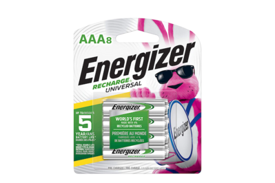 Energizer Recharge AAA Batteries