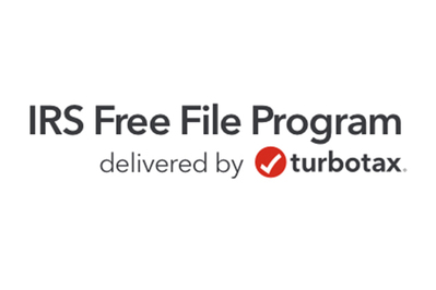 IRS Free File Program delivered by TurboTax