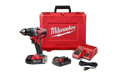 Milwaukee 2801-22CT M18 1/2 in. Compact Brushless Drill/Driver Kit