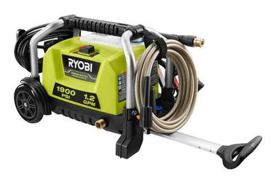 Ryobi RY1419MTVNM 1900 PSI Electric Pressure Washer