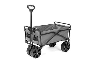Seina Manual Folding Utility Beach Wagon