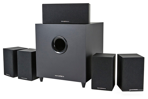 sound system home theater. monoprice premium 5.1-ch. home theater system 10565 sound e