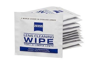 Zeiss Lens Cleaning Wipes