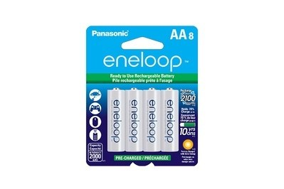 Panasonic Eneloop AA 2100 Cycle Rechargeable Batteries