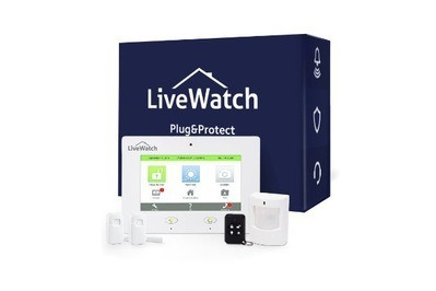 LiveWatch Plug&Protect IQ with Total Home + Video Plan