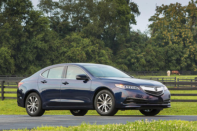 2016 Acura TLX with Technology Package