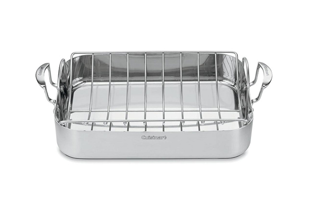 Cuisinart 16″ Roasting Pan With Rack (MCP117-16BR)
