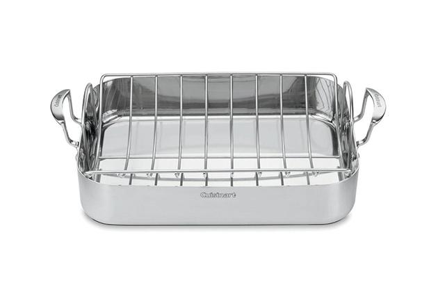 Cuisinart 16″ Roasting Pan With Rack (MCP117-16BR)