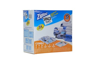 Ziploc Space Bags (Box of 15)