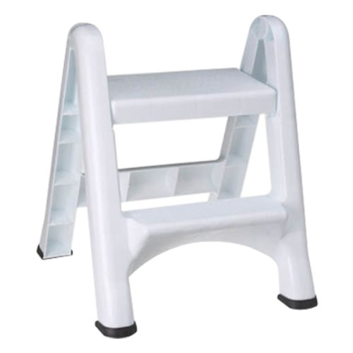 less secure but higher capacity - Step Stool