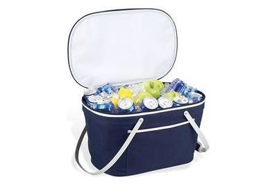 Picnic at Ascot Stylish Insulated Market Basket / Picnic Tote