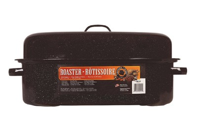 Granite Ware 19-inch Covered Oval Roaster (F0510)