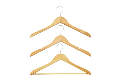 Charming The Container Store Basic Natural Wood Hangers