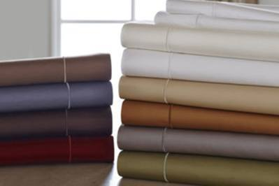 Royal Velvet 400 TC WrinkleGuard Sheet Set