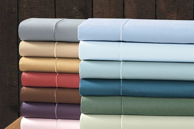 Cuddledown 400 Thread Count Cotton Sateen Bedding