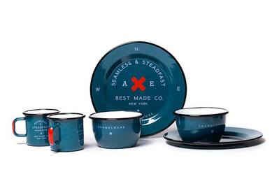 Best Made Two-Person Seamless & Steadfast Enamel Gift Set