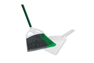 Libman Large Precision Angle Broom with Dustpan