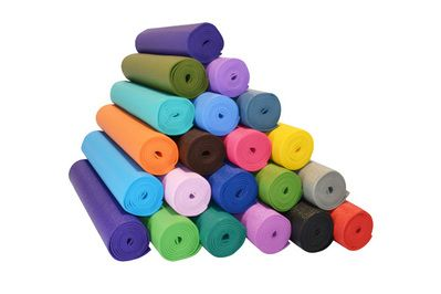 YogaAccessories 1/4″ Extra Thick Deluxe Yoga Mat