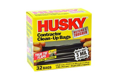 Husky 42-Gallon Contractor Clean-Up Bags