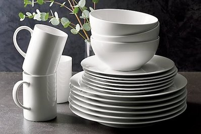 Crate and Barrel Aspen Dinnerware
