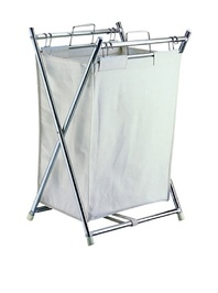 Organize It All Folding Hamper with Canvas Pullout Bag 5760
