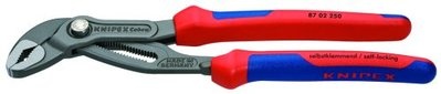 'Knipex 8702250 10-Inch Cobra Pliers - Comfort Grip' from the web at 'https://d1b5h9psu9yexj.cloudfront.net/B000X4PU80.jpg'