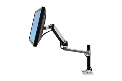 Outstanding Ergotron Lx Desk Monitor Arm Tall Pole Download Free Architecture Designs Intelgarnamadebymaigaardcom