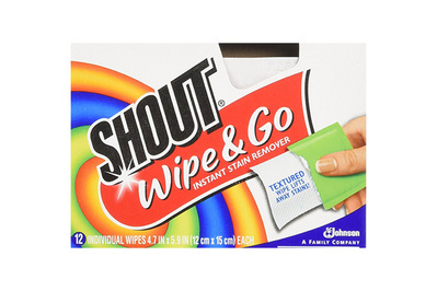 Shout Stain Remover Wipes